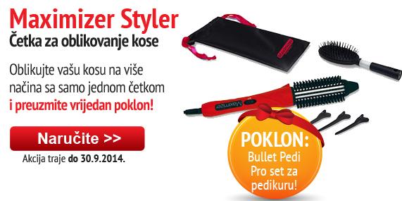 Maximizer Styler with Bullet Pedi Pro