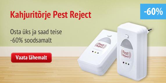 pest reject - get 2-nd for 9,99eur