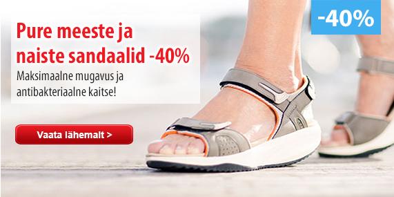 PURE sandaalid
