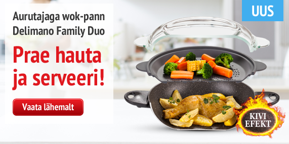 Delimano family aurutajaga wok-pann