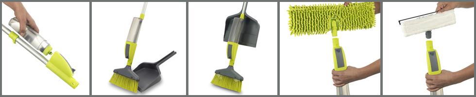 Mop cu sistem de pulverizare Rovus Multi-Cleaner