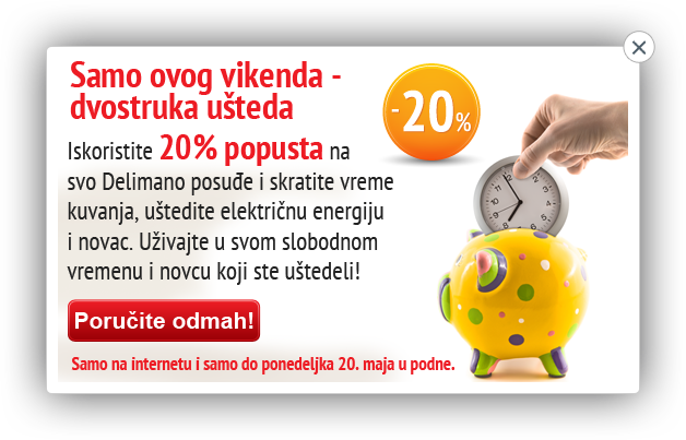 Delimano vikend ponuda!