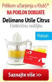 Delimano Utile Citrus – električna cediljka