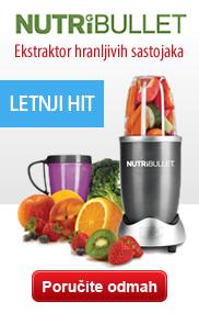 Nutribullet – Ekstraktor hranljivih namirnica