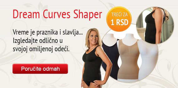 Dream Curves Shaper treći za dinar