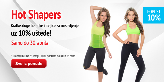 Hot Shapers kolekcija 10%