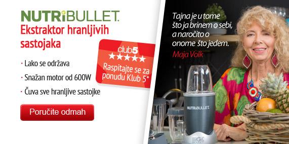 Nutribullet – ekstraktor hranljivih sastojaka