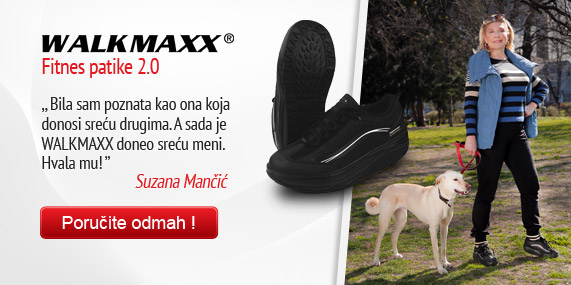 Walkmaxx Black 2.0 Suzana Mancic