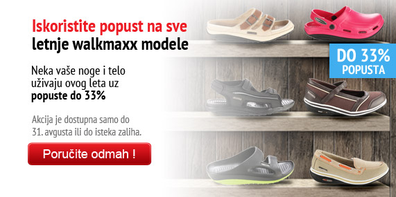 Walkmaxx letnja akcija do 33% popusta