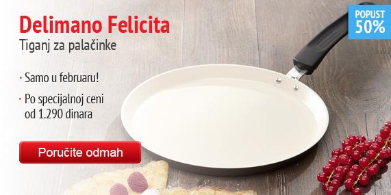 Delimano Felicita Pancake – tiganj za palačinke