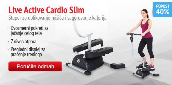 LA Cardio Slim - steper