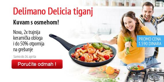 Delimano Delicia Frypan – tiganj 20cm