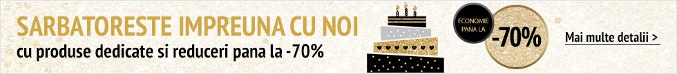 Sarbatoreste cu noi 20 ani Top Shop cu reduceri pana la -70%!