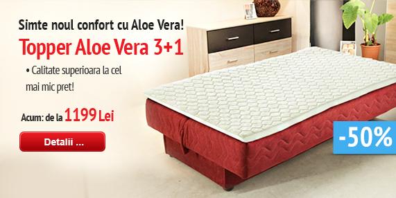 Topper Aloe Vera 3+1