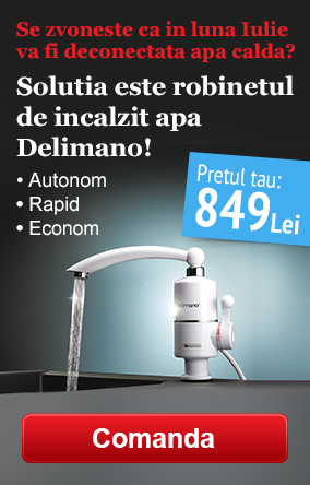 Robinet electric Delimano Heating Faucet