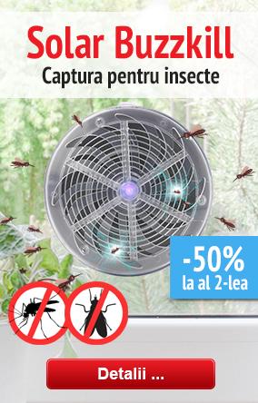 Captura pentru insecte Solar Buzzkill