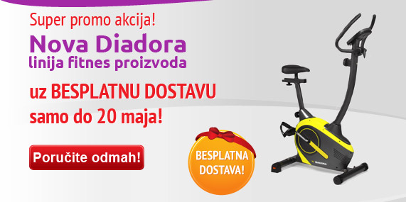 Nova linija Diadora fitnes proizvoda