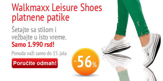 Walkmaxx Leisure platnene patike uz popust od -56%
