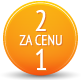 2 za cenu 1