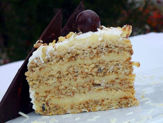 Ореховые торты рецепт фото