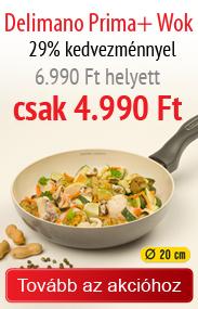Delimano wok 4.990 Ft-ért