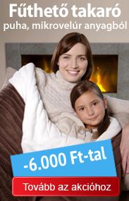 Dormeo fűthető takaró