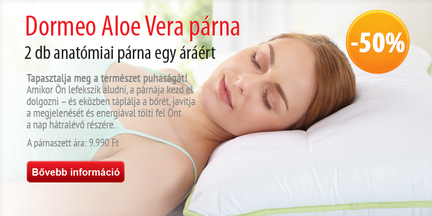 Aloe Vera Anatomic Pillow