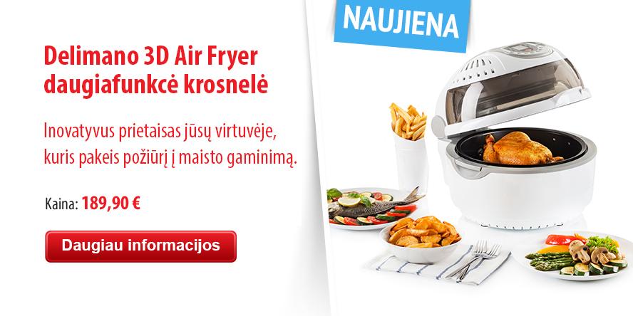 3D Air Fryer multicooker