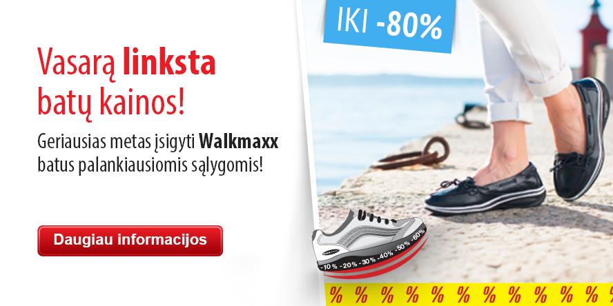 Walkmaxx batų išpardavimas