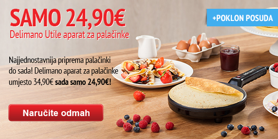 Delimano Utile Pancake maker