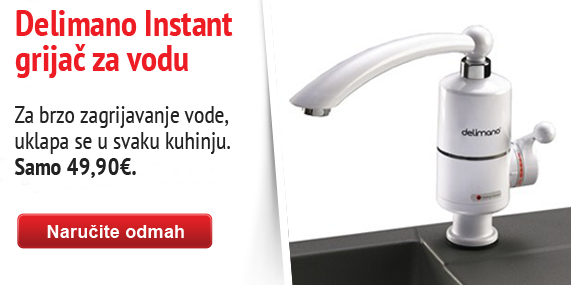 Delimano instant heating faucet