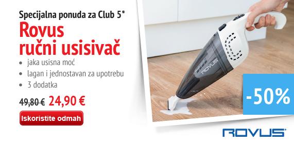Rovus cordless vacuum cleaner