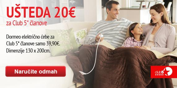 Dormeo electric blanket