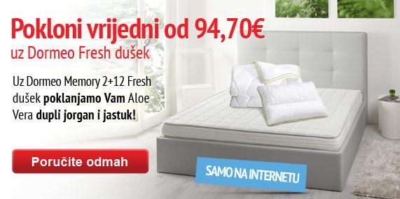 Fresh mattress with gift