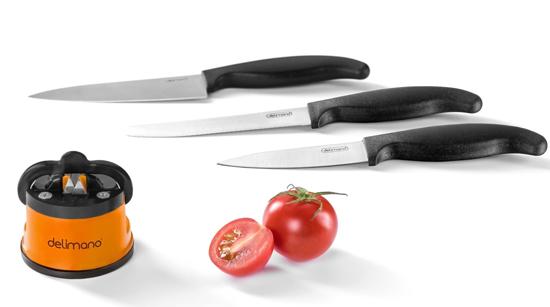 Комплект Брава Екстрийм - точило с 3 ножа