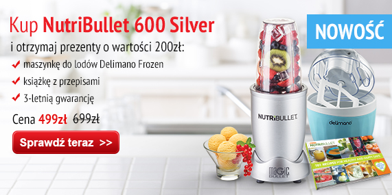 Nutribullet Silver + Gifts