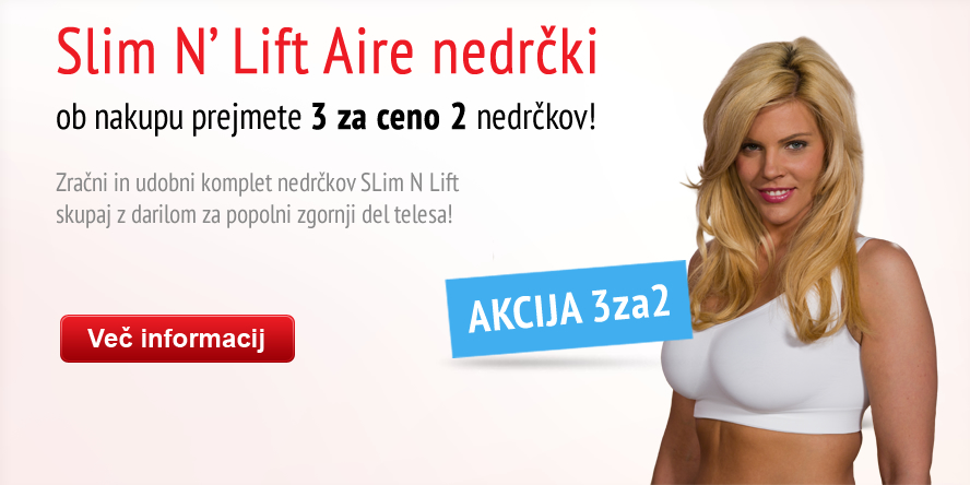 Slim N Lift Aire Bra 3for2 campaign