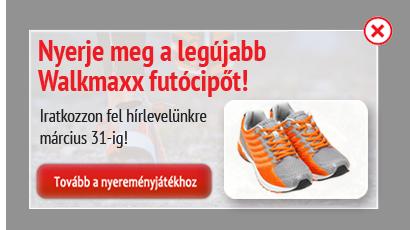 Nyerjen Walkmaxx hótaposót!