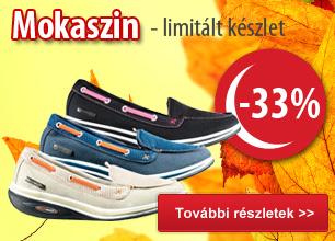 Mokaszin -33%