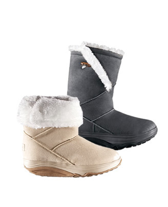 Čizme od brušene kože Walkmaxx -50%