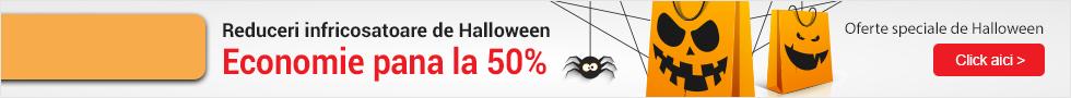 Reduceri infricosatoare de Halloween