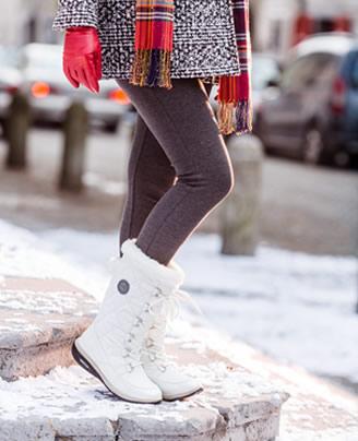 Walkmaxx Wintersice sa pertlama bijele